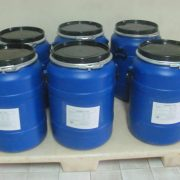 50 kgs. HDPE drums
