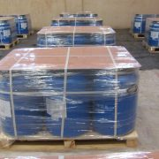 50 kgs. HDPE drums - Palletized